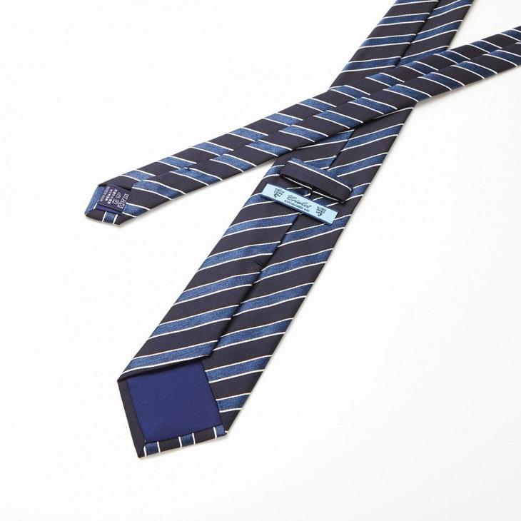[クリケット] CRICKET ネイビーベース ネクタイ ブルー