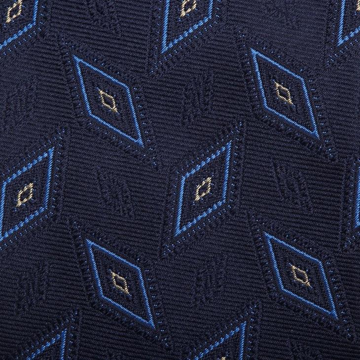 [クリケット1960] Cricket 1960 イタリア製生地 ヴィンテージ調小紋柄 ネクタイ コン