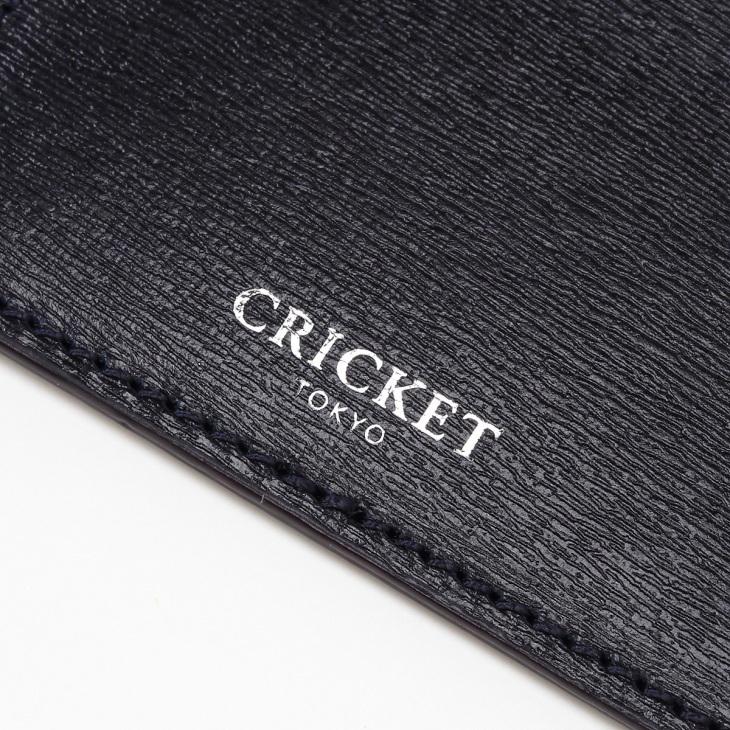 [クリケット] Cricket 水シボ型押し パルメラート シングルカードケース コン