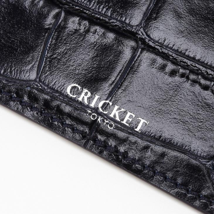 [クリケット] Cricket クロコ型押し マティスラックス シングルカードケース コン
