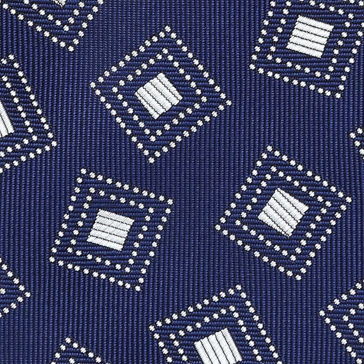 [クリケット] Cricket 四角柄 ネクタイ Premium プレミアム コン