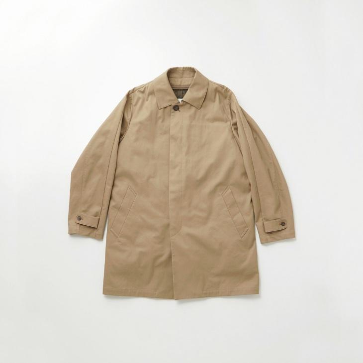 [リラフォートクリケット] RELAFORT cricket ステンカラーコート 中綿ライナー付き キャメル