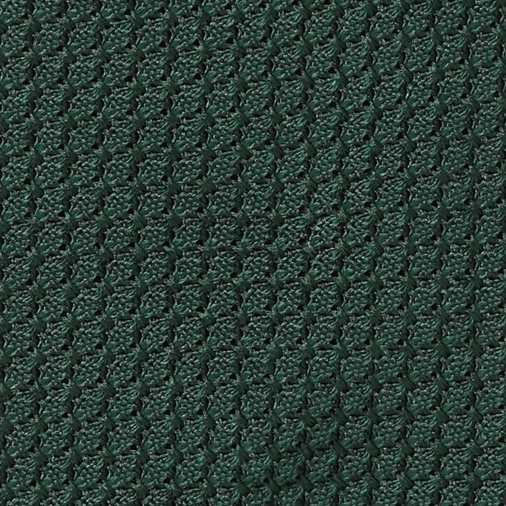 [クリケット] Cricket イタリア製生地 フレスコ織り 無地 ネクタイ Noble ノーブル ダークグリーン