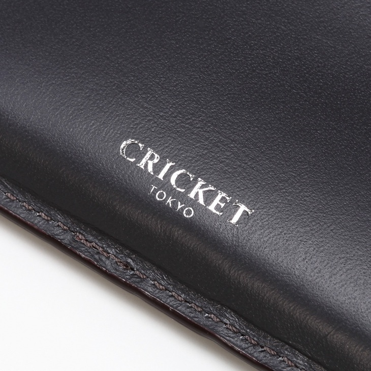 [クリケット] Cricket クロコ型押し マティスラックス 名刺入れ グレージュ
