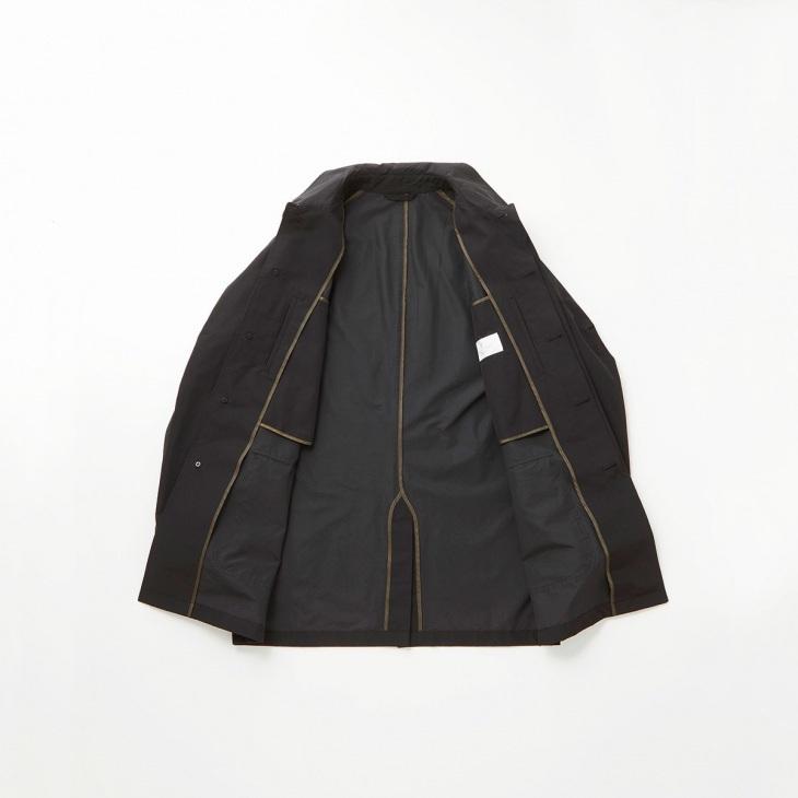 [リラフォートクリケット] RELAFORT cricket ステンカラーコート ブラック