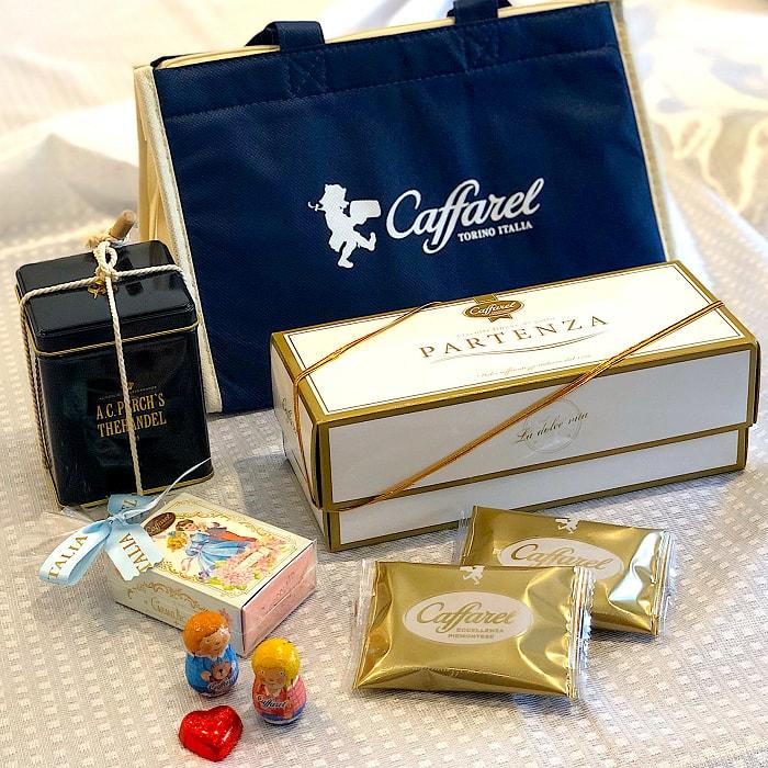 【カファレル/エーシーパークス】チョコレート・ティーギフトセット・クーラーバッグ付