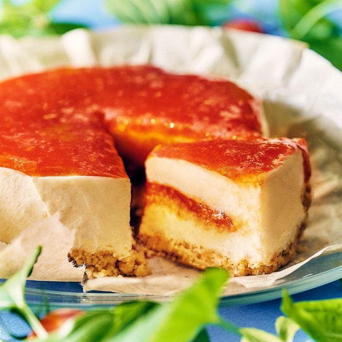 ※送料込※【数量・期間限定】トマトチーズケーキ