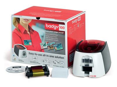 EVOLIS カードプリンタ Badgy100(バッジー100) B12URS