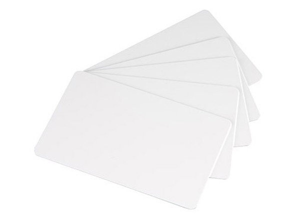 EVOLIS バッジー用白無地カード 0.76mm厚口 100枚入 CBGC3W