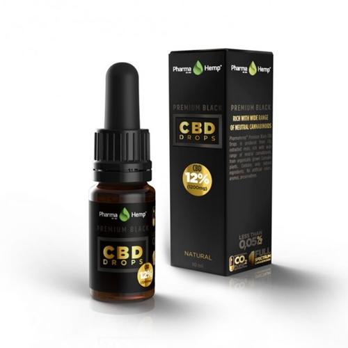 CBD オイル/12%(1200mg)ファーマヘンプ プレミアム CBD ドロップス 10ml / PharmaHemp PREMIUM CBD DROPS