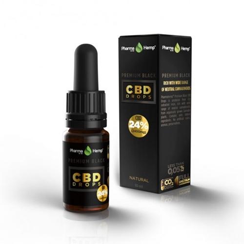 CBD オイル/24%(2400mg)ファーマヘンプ プレミアム CBD ドロップス 10ml / PharmaHemp PREMIUM CBD DROPS