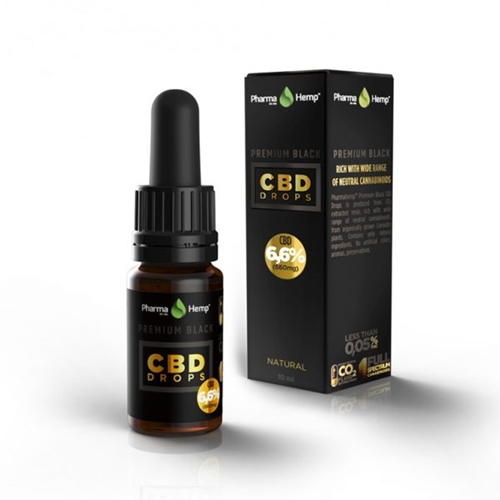 CBD オイル/6.6%(660mg)ファーマヘンプ プレミアム CBD ドロップス 10ml / PharmaHemp PREMIUM CBD DROPS
