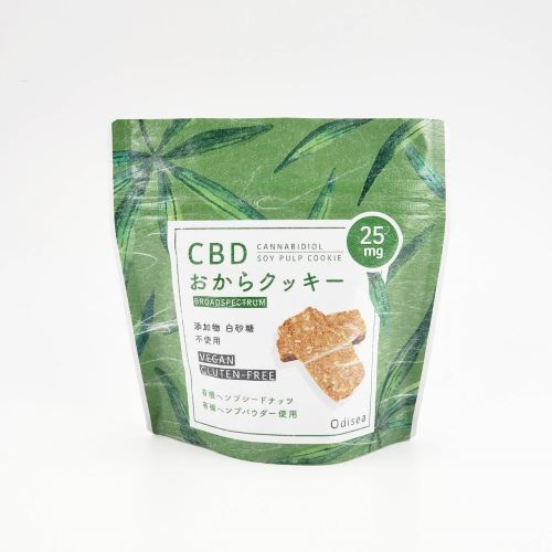 CBD おからクッキー 1枚CBD25mg