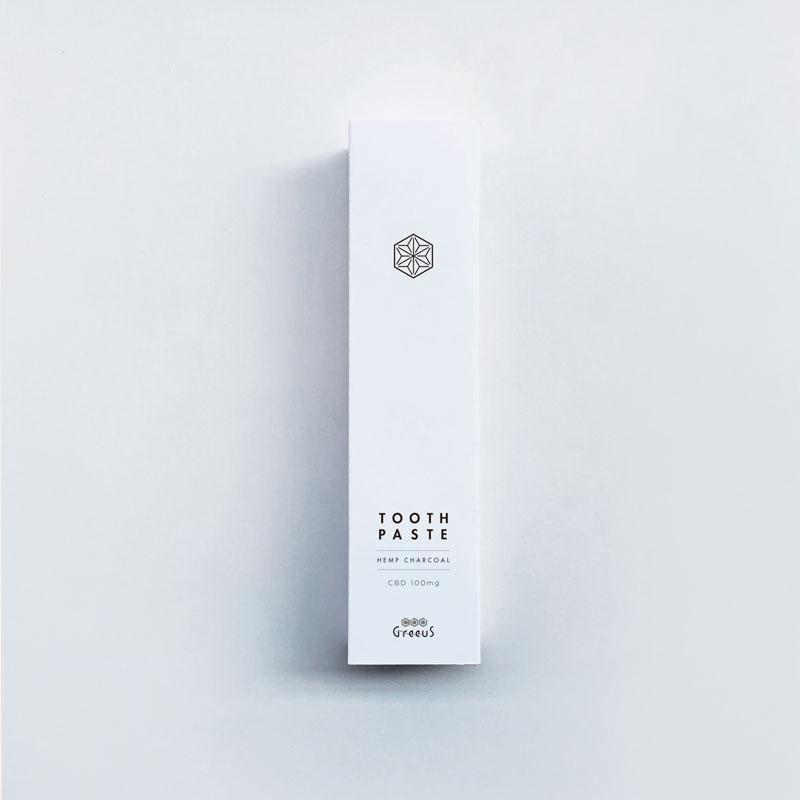 CBD トゥースペースト/100mg グリース CBD 歯磨き粉 55g / Greeus CBD TOOTHPASTE