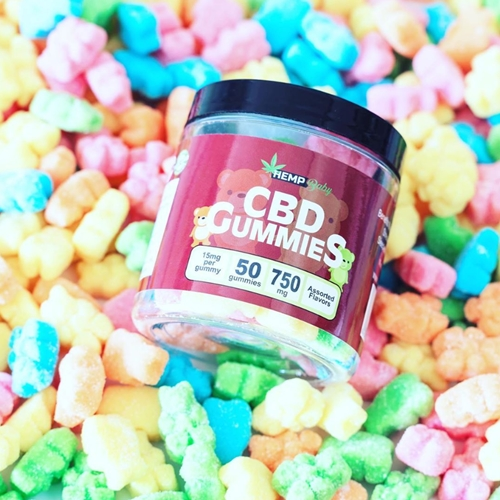 CBD グミ/750mg ヘンプベイビー 1粒CBD15mg + CBN3mg 50個 / HEMP Baby CBD GUMMIES