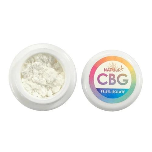 CBG パウダー/CBG 99.6% ナチュール CBG アイソレート 500mg / NATUuR CBG99.6% CBG Isolate