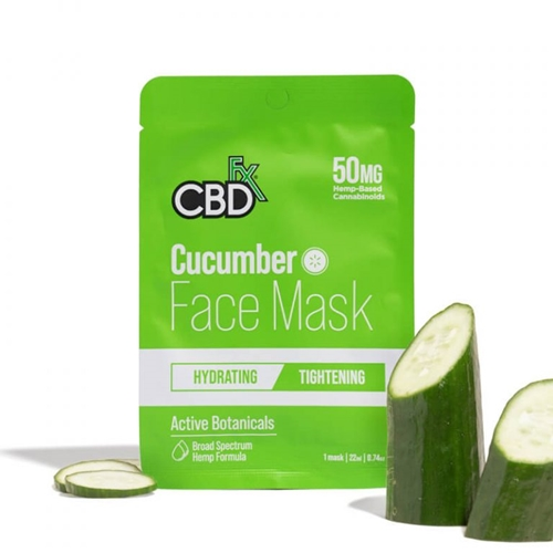 CBD フェイスマスク/50mg CBDfx CBD FACE MASK