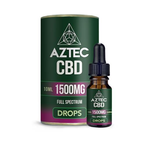 CBD オイル/15%(1500mg)アステカ CBD オイルドロップス 10ml / AZTEC CBD Oil Drops