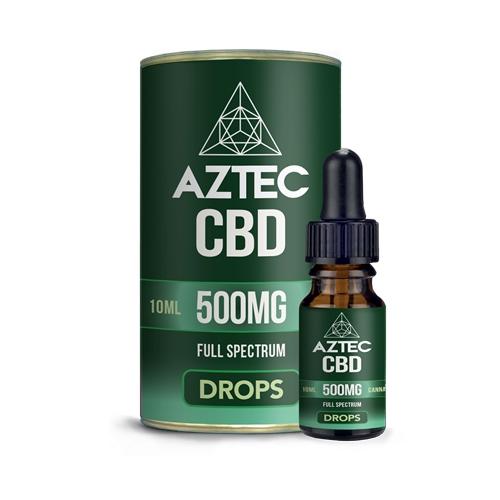 CBD オイル/5%(500mg)アステカ CBD オイルドロップス 10ml / AZTEC CBD Oil Drops