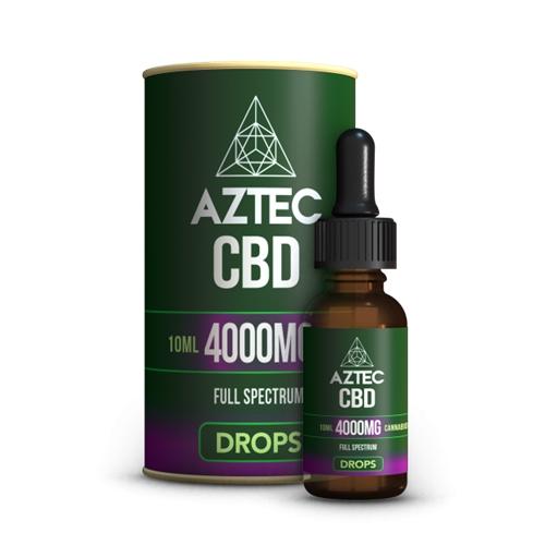 CBD オイル/40%(4000mg)アステカ CBD オイルドロップス 10ml / AZTEC CBD Oil Drops