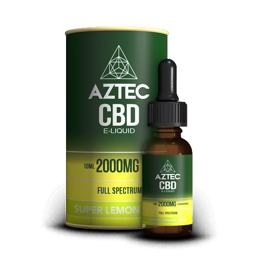CBD リキッド/20%(2000mg)アステカ フルスペクトラム CBD リキッド 10ml / AZTEC FULL SPECTRUM CBD E-LIQUID