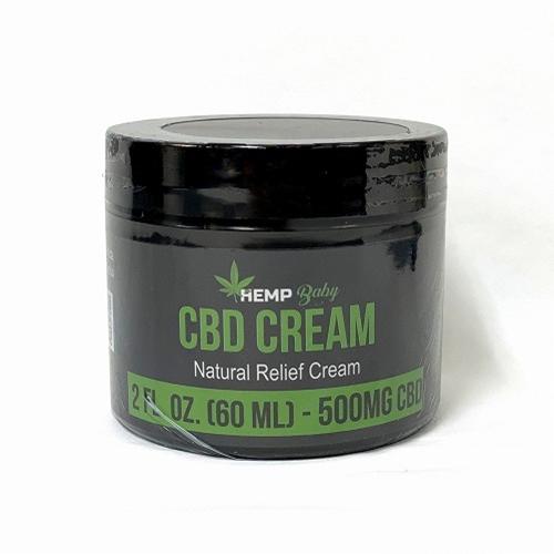 CBD クリーム/CBD 500mg 配合 ヘンプベイビー ナチュラルレリーフクリーム / HEMP Baby CBD CREAM ーNatural Relief Creamー