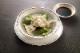 水餃子セット(青菜とハス・ニラと海老各15個タレ付き)【冷凍品】