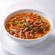 すっぱ辛い豚肉の炒めのせスープそば