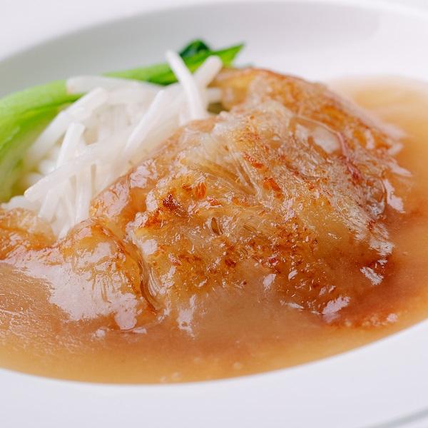 【厳選御中元ギフト】フカヒレの姿煮と焼きフカヒレの上湯ソース添え食べ比べ