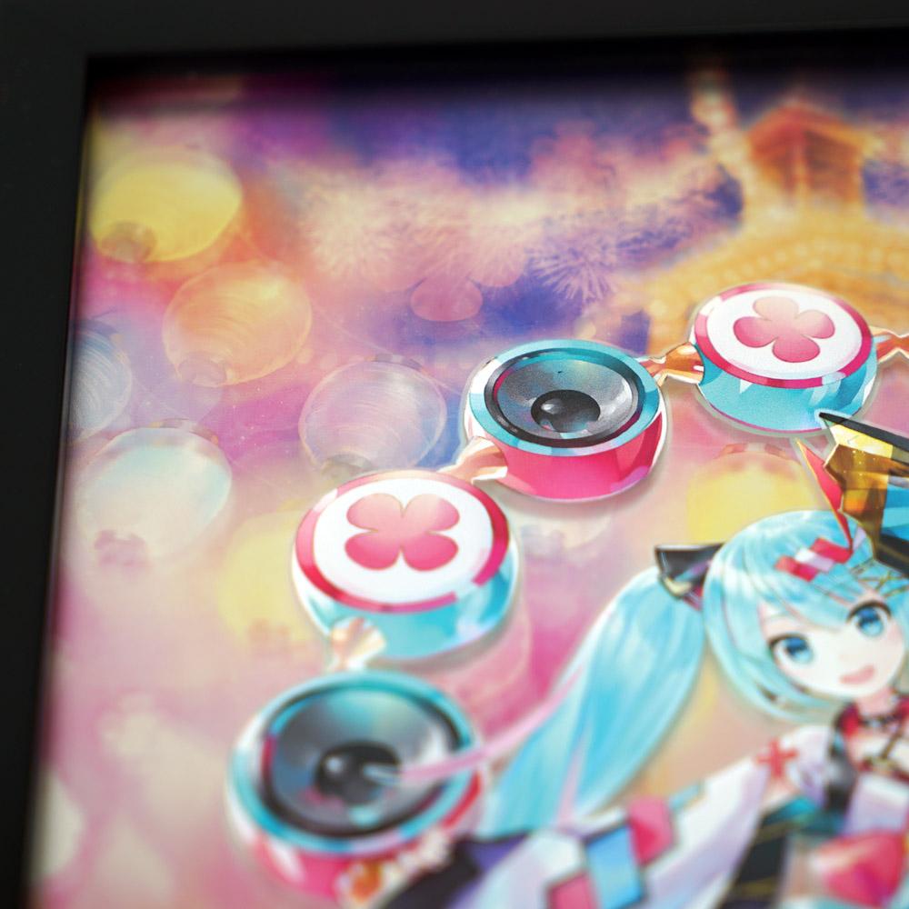 マジカルミライ 2020 夏まつり/B5パブミラー 初音ミク (Art by KEI)