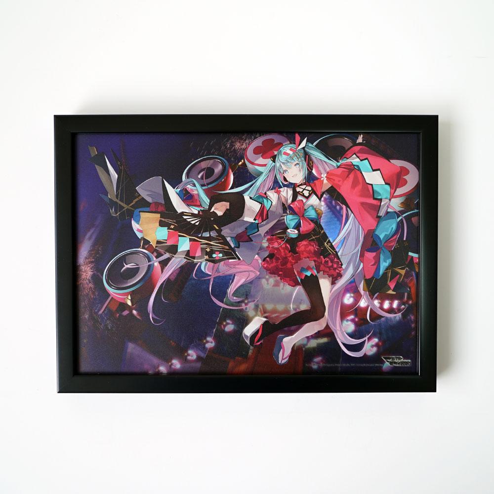 マジカルミライ 2020 夏まつり/B5パブミラー 初音ミク (Art by MIYA*KI)