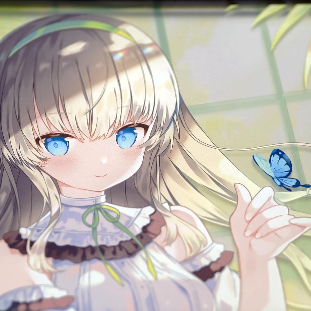 オリジナルB4パブミラー 彼女の秘密の庭 (Art by いかり)