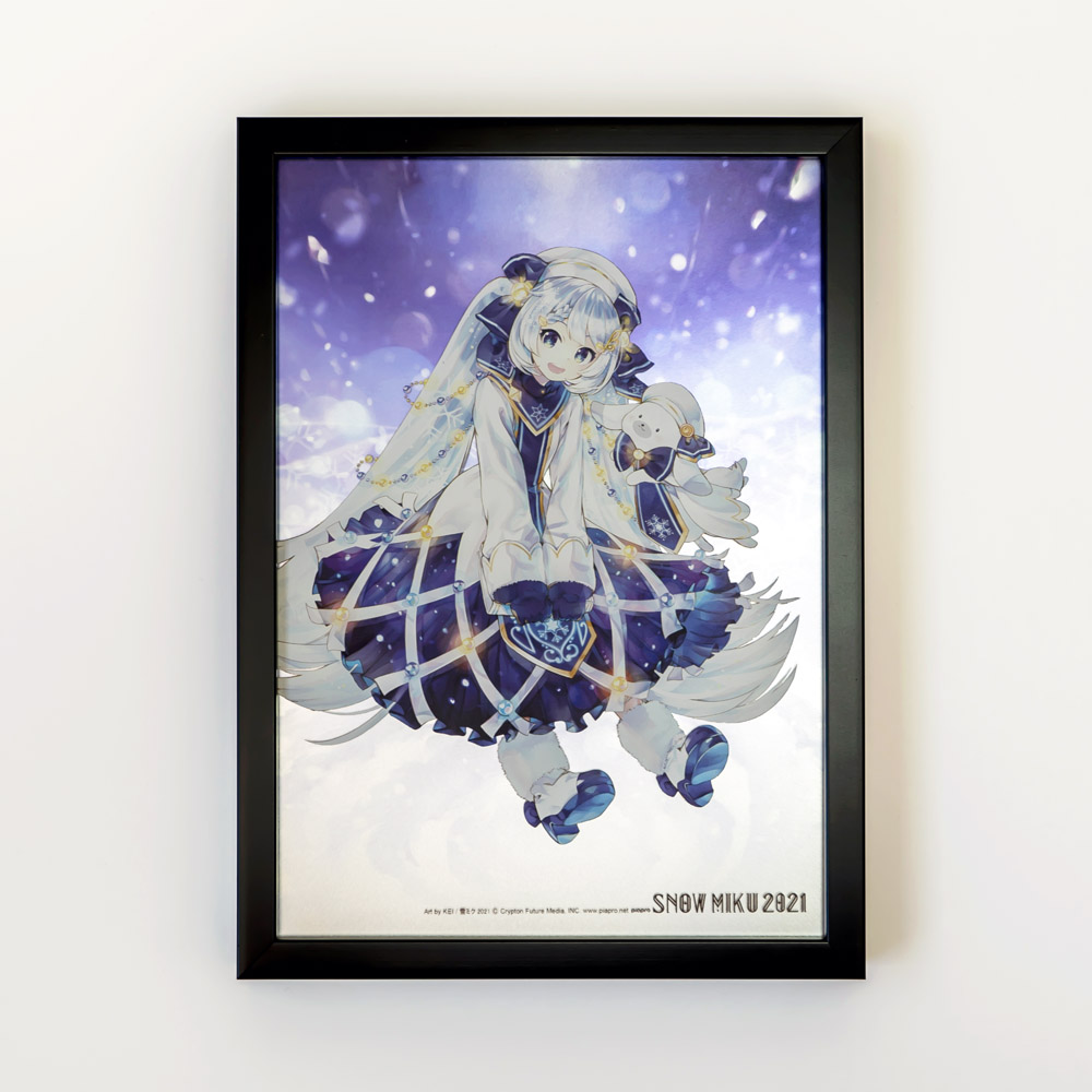 SNOW MIKU 2021/B4パブミラー 初音ミク (Art by KEI)