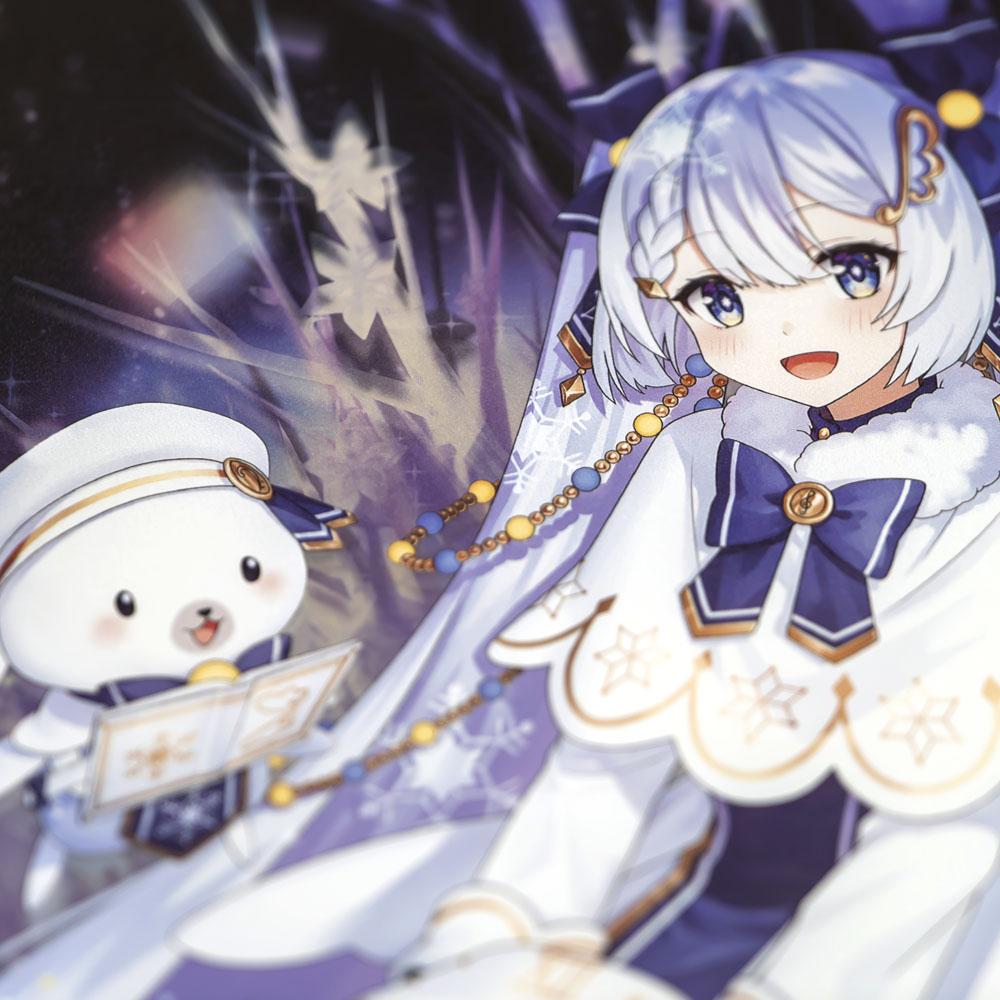 SNOW MIKU 2021/B4パブミラー 初音ミク (Art by さかなへん)