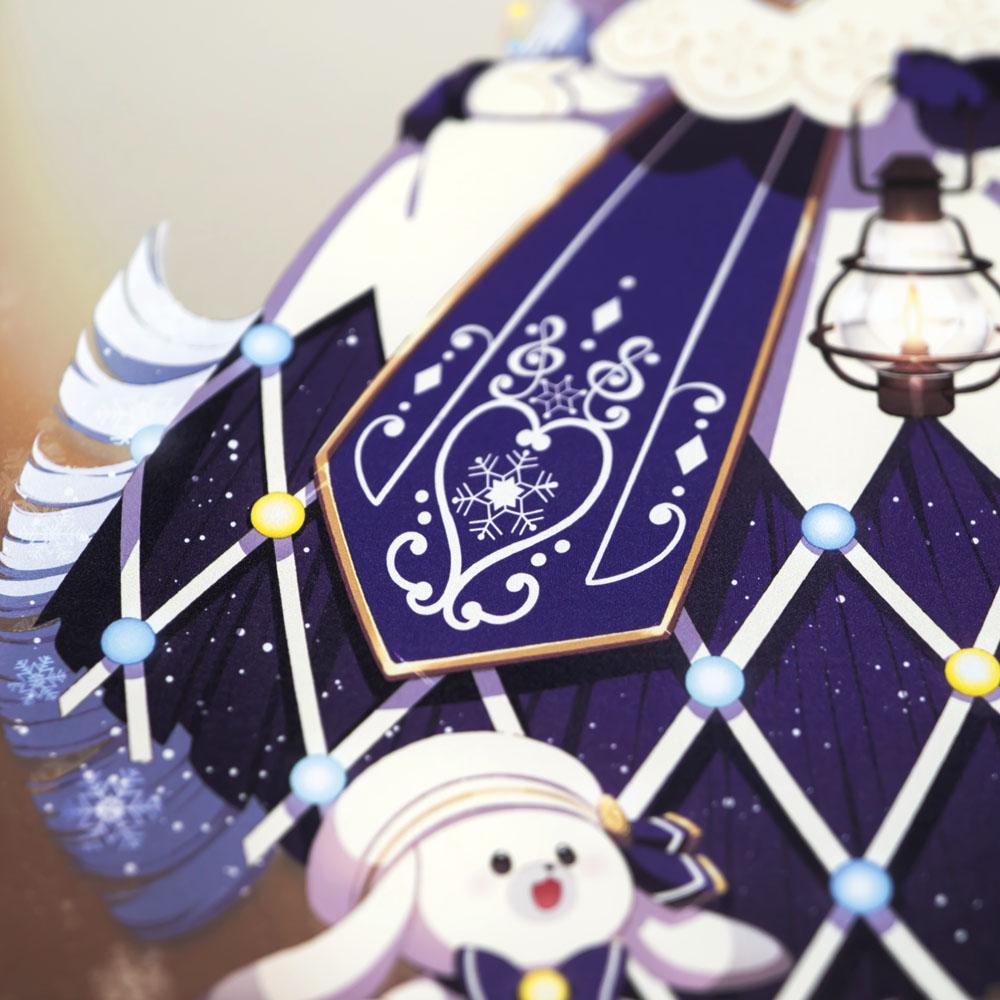 SNOW MIKU 2021/B4パブミラー 初音ミク (Art by 間明田)