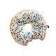 オーストラリアから SACK ME! ドーナツクッション Krispy Dreme (cream) 直径約40cm 撮影小物