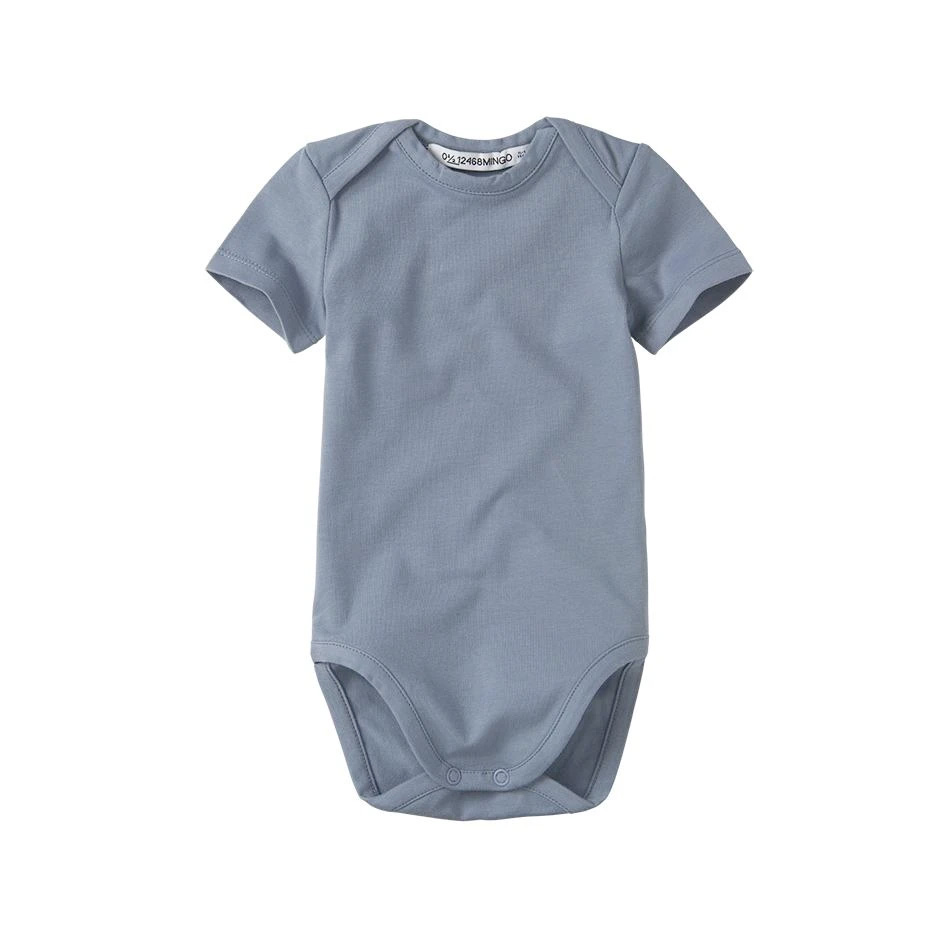 [30%OFF] From Netherlands MINGO Bodysuit short sleeves Stone 新生児/60/70
