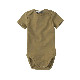 [30%OFF] From Netherlands MINGO Bodysuit short sleeves Oak 新生児/60/70