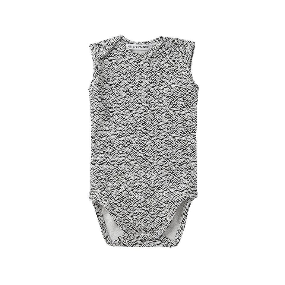 [30%OFF] From Netherlands MINGO Bodysuit Sleeveless Dots 新生児/60/70