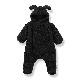 [60%OFF] From Spain 1+in the family   MONTREAL polar suit オーバーオール 80サイズ Black