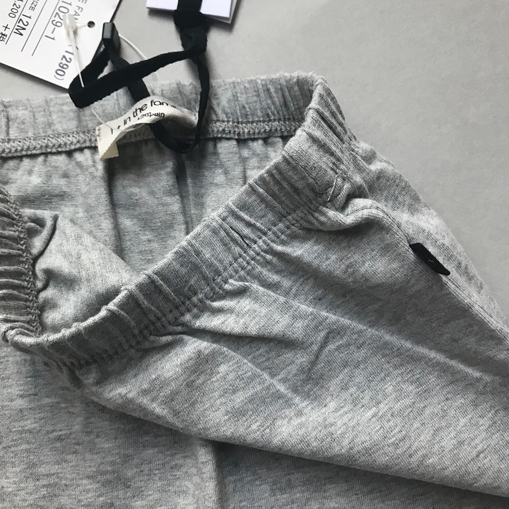 [30%OFF] From spain 1+in the family PIA leggings GRAY 60-70/70-80 organic cotton