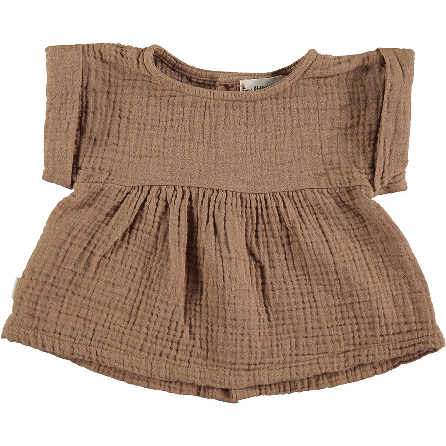 [50%OFF]From spain MY LITTLE COZMO BLOUSE JANIS86/カラーTILE /50-60/70-80/80-90