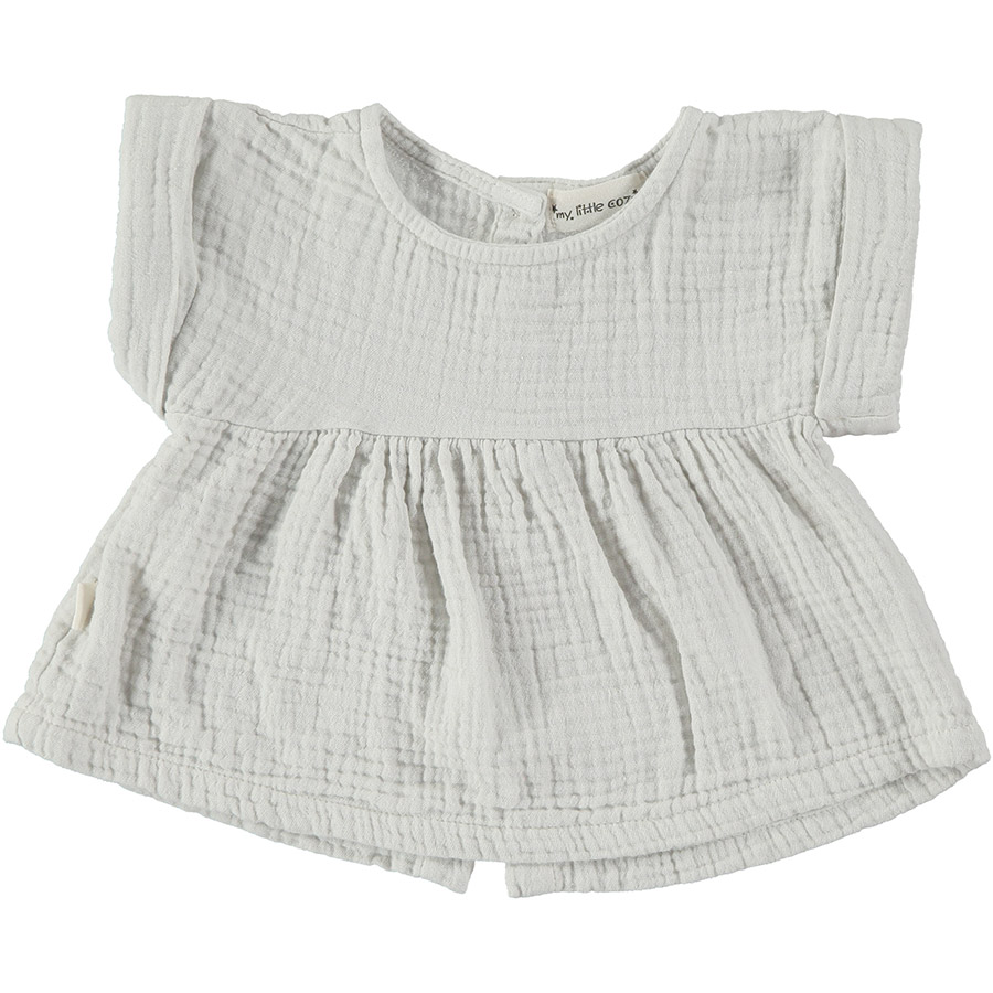 [50%OFF]From spain MY LITTLE COZMO BLOUSE JANIS86/カラーSTONE /50-60/70-80/80-90