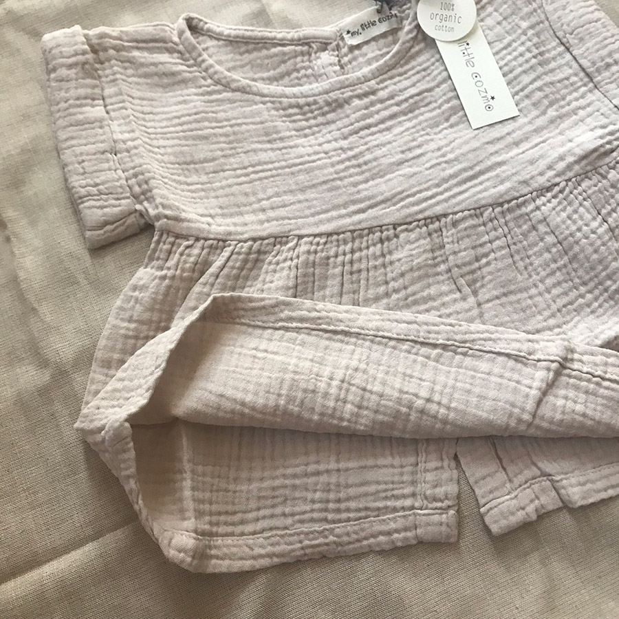 [30%OFF]From spain MY LITTLE COZMO BLOUSE JANIS86/カラーBLUE /50-60/70-80/80-90