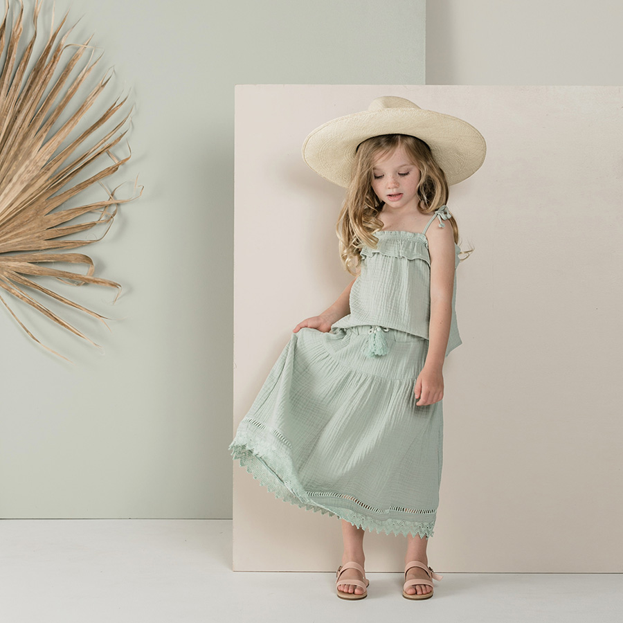 [40%OFF] Rylee & Cru mila maxi skirt 2-3y/4-5y/6-7y/8-9y