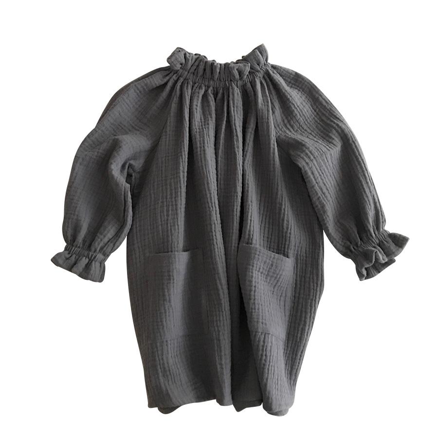 ●ドイツから liilu dress オーガニックコットン oana dress elephant 2-4/4-6Y/6-8Y