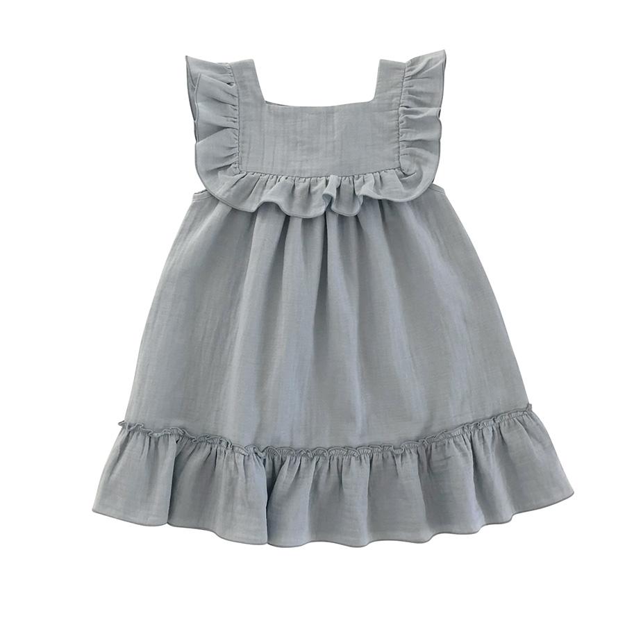 ●liilu Lina dress 1-2/2-4/4-6 BLUE