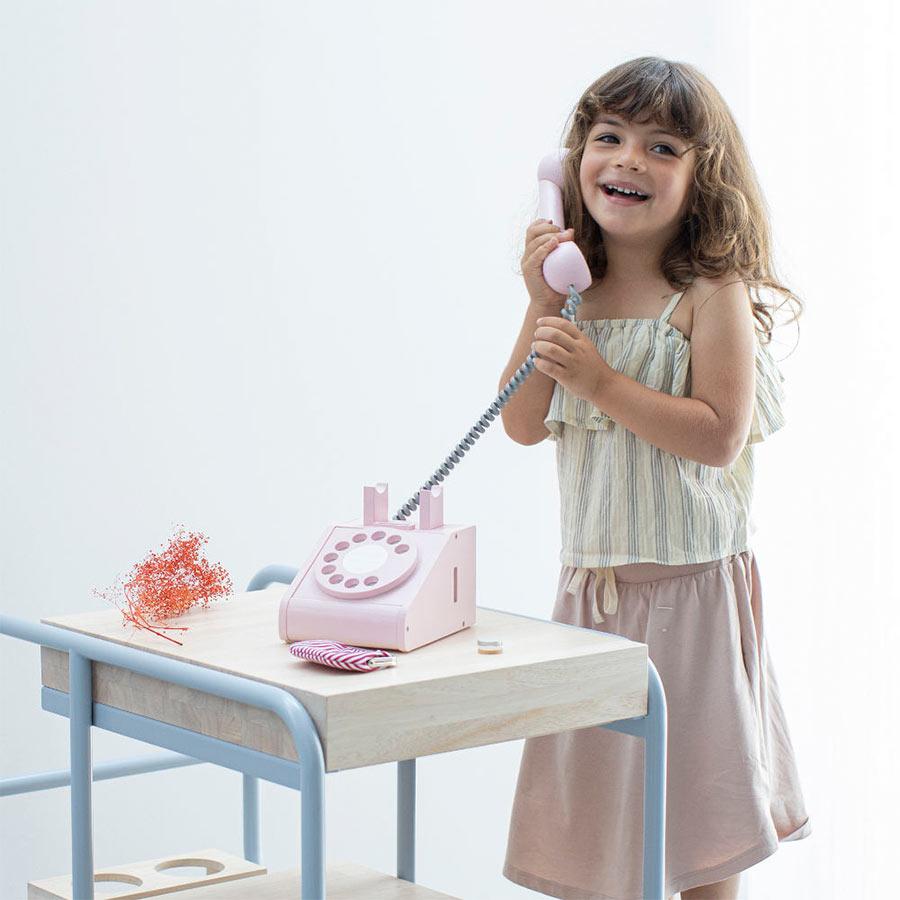 kiko+ キコ telephone(テレフォン) pink