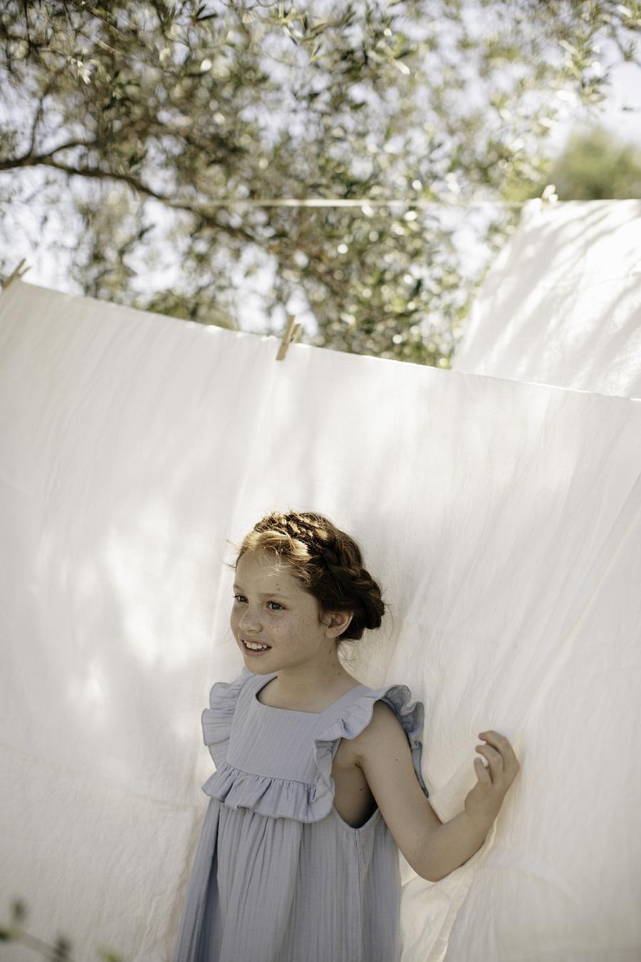 [30%OFF] From germany liilu Lina dress 6-8/8-10/10-12Y Sandy stripesORGANICCOTTON
