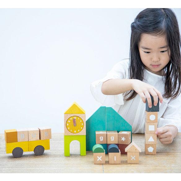 gg* ジジ tsumiki school ブロック積み木